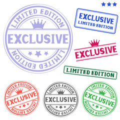 exclusive stamp