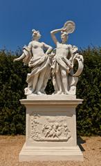 Allegory Fire (XVIII c.).  Belvedere garden, Vienna, Austria
