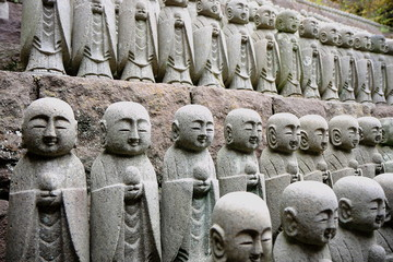 Stone monks
