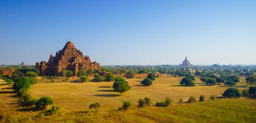Dhammayangyi temple at sunrise, The biggest Temple in Bagan, Mya