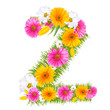 "Spring color number with flower ""2"""