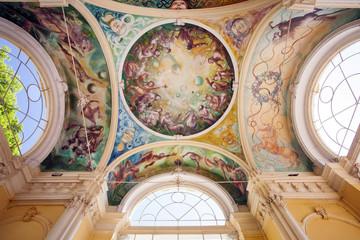 frescoes, Marianske lazne Spa