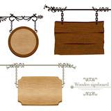 Fototapety 木製の看板