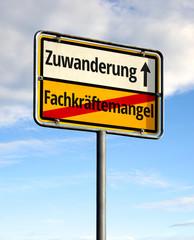 Fachkräftemangel - Zuwanderung