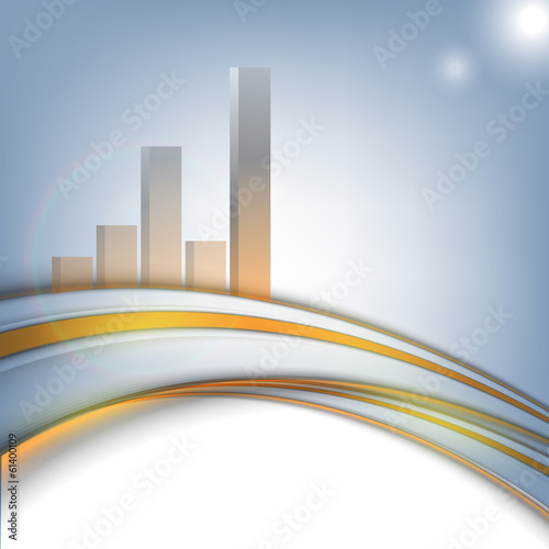 vector corporate statistic background