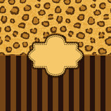 leopard skin background