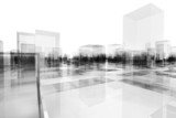 abstract blocks city - 61400586