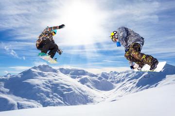 doppio salto in valle