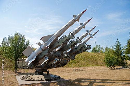 Poster Air defense missiles