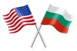 Flags: The United States and Bulgaria
