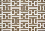 Decorative concrete fence pattern