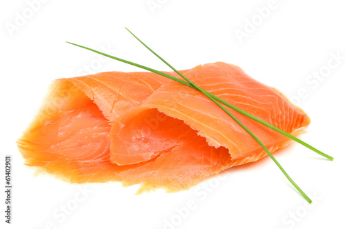 Foto op Canvas Vis Smoked Salmon