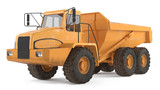 Dumper isolated at the white background