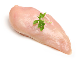 Fresh Raw Chicken Breast