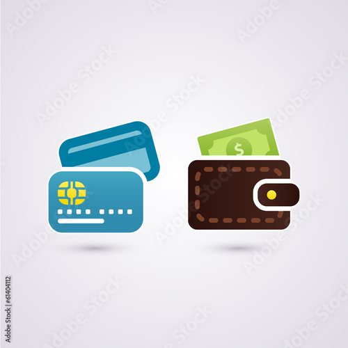 Cash and credit card