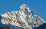 "Snow clad peak Of ""Nanda devi"""