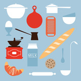 Food and kitchen objects - 61404559