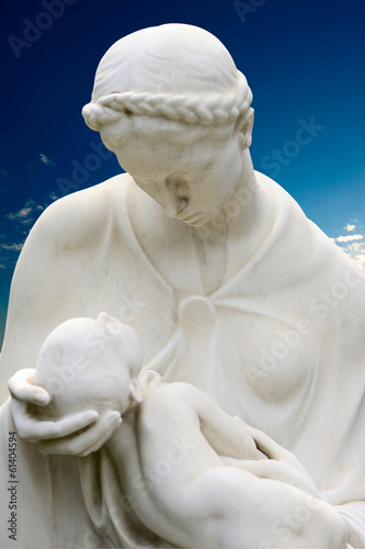 madre con bambino - mother with baby