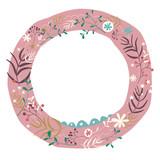 Floral Holiday Design - 61404709