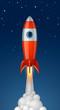 Fusée vectorielle 1 - 61404977