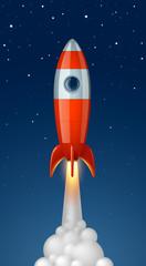Fusée vectorielle 1