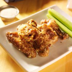 zesty garlic parmesan chicken wings