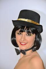 Portrait  Charleston Show Tänzerin