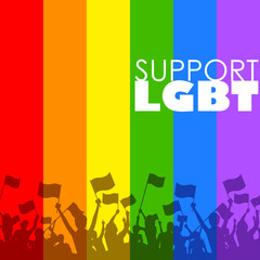 LGBT support