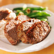 hearty meatloaf dinner with sides