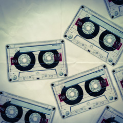 cassette tapes paper