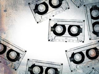grunge tapes