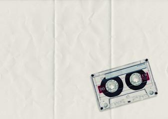 folded paper cassette