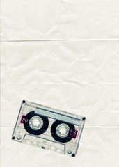 cassette tape paper