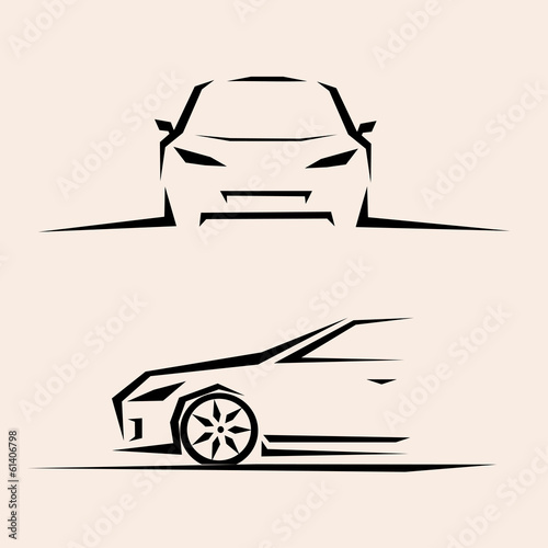 sport car vector sketch