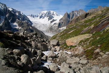 Alps mountains.