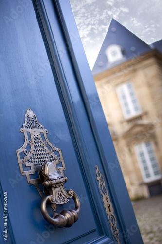 Façade d'un hôtel particulier à Bordeaux