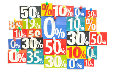 Rabatt - Prozent