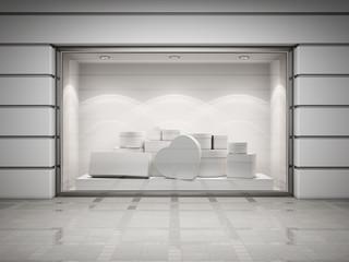 Storefront of shop