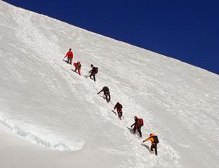 Vers le Dôme des Ecrins - 4015 m, Alpes