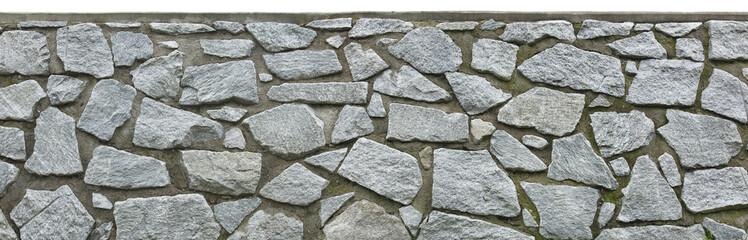 Steinmauer grob