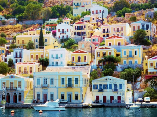 beautiful Greek island - Symi