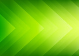 Fototapety Abstract green eco arrows background