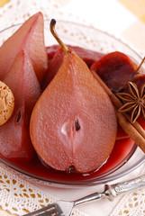 frutta cotta al vino rosso