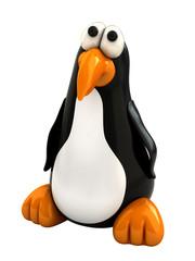 3d render of cartoon style penguin