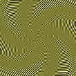 Illusion of wavy rotation movement.