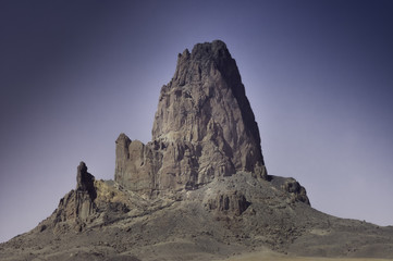 rocks formation on navajo land