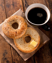 Toasted Bagel