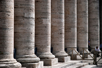 Vatican City - Colonnades