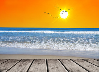 un dia perfecto en la playa