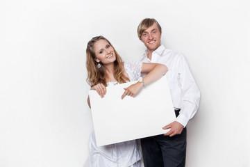 Textfreiraum für das Brautpaar